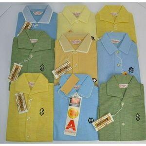Vtg 1970's Boy's Polo Shirts x 9, Springfoot